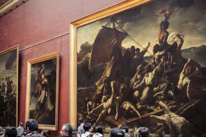 Gericault's 'Raft of the Medusa' is one of the most striking works on any Louvre highlights tour.