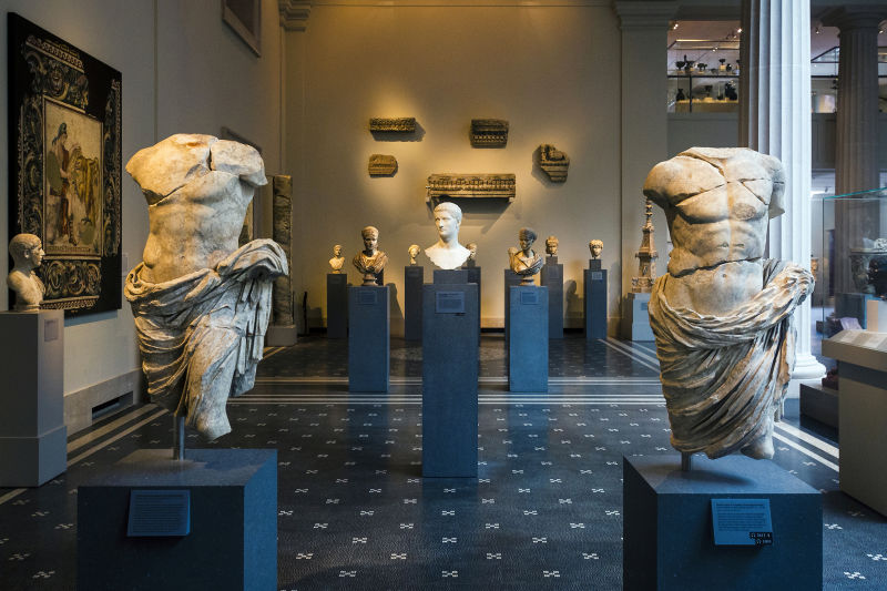 The museum hosts an amazing collection of Roman antiquities