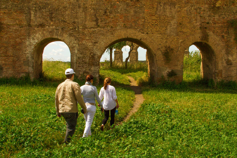 The aqueducts are some of the most enduring monuments of Ancient Rome