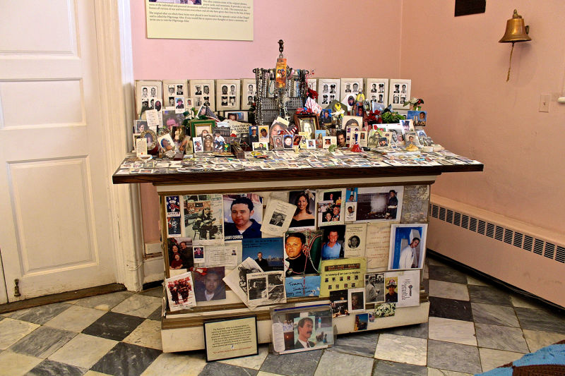 The Memorial Altar in St. Paul's Chapel