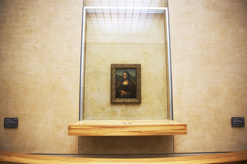The' Mona Lisa' is smaller than you think she is