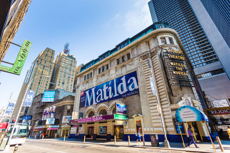 Visit the historic theaters of Broadway