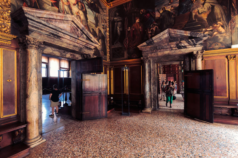 The wealth that built the Doge's Palace came from a shipping empire that spanned the entire Mediterranean Sea.