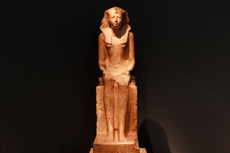 Incredible art from Ancient Egypt lives today at the Met Museum