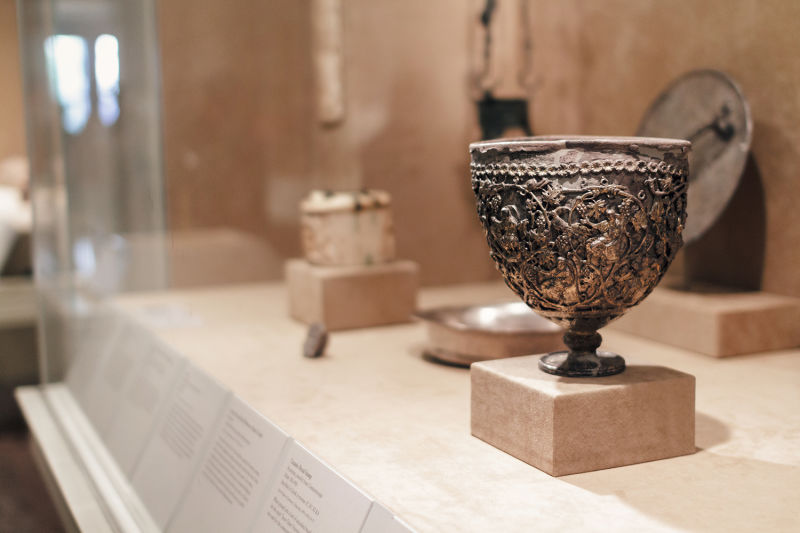 The Holy Grail -- or is it? Find out the true story on our Met tour