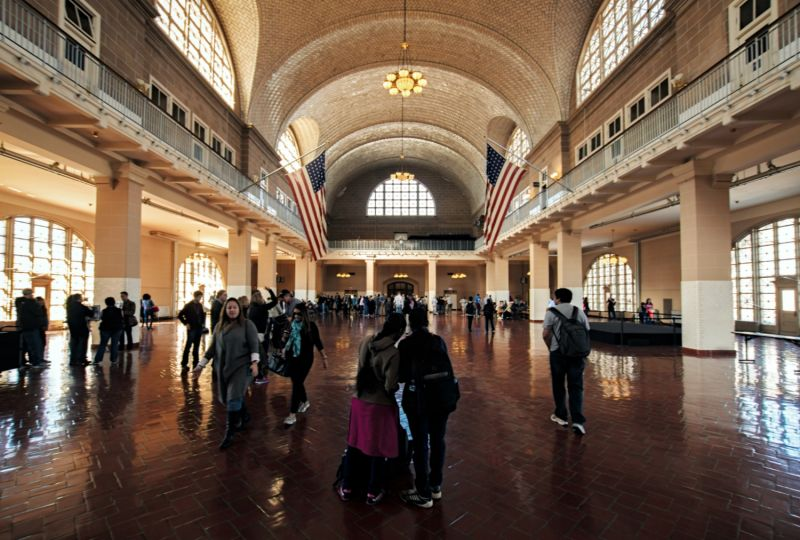 Ellis Island Immigration Center isn't just fascinating - it's beautiful too