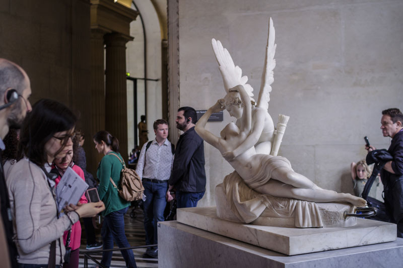 Canova's 'Cupid and Psyche' never fails to woo visitors.