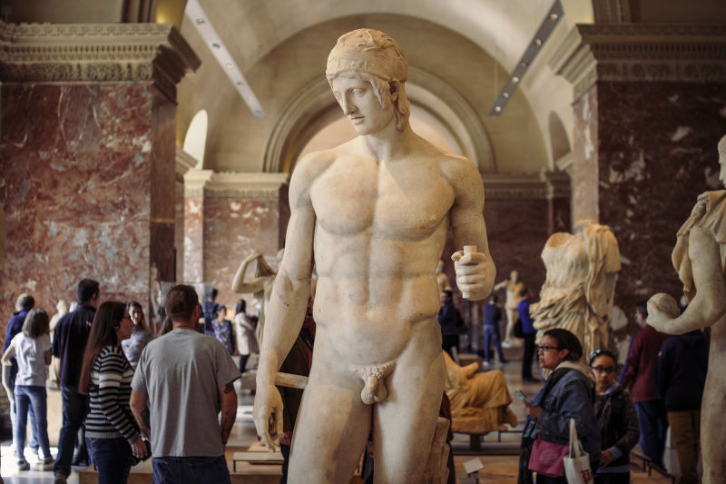 The Louvre has some of the best ancient Roman statues outside of Rome.