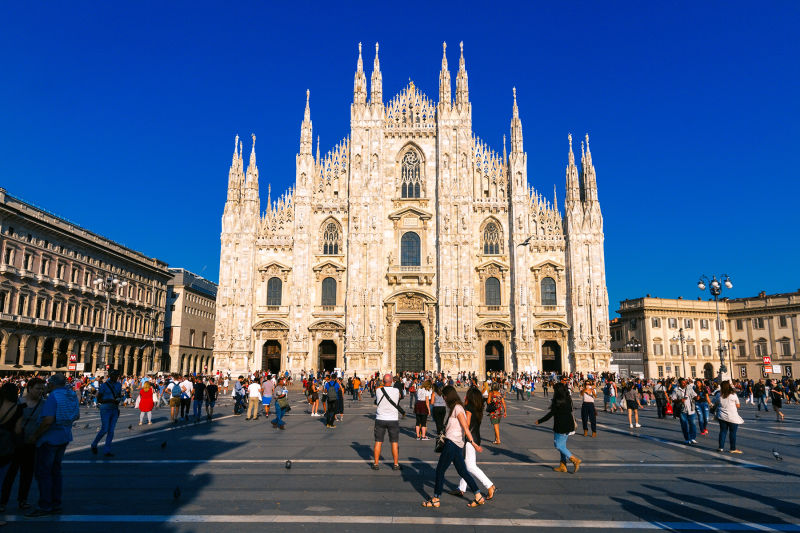 Milan Duomo is an incredible and imposing building