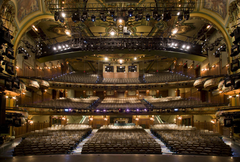 An actor's view of the New Amsterdam Theatre