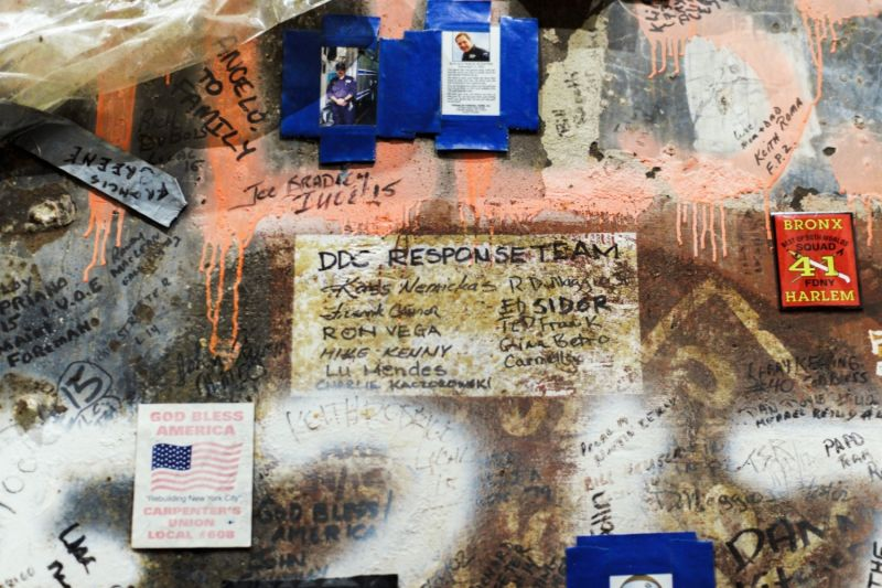 Messages to the response team of 911