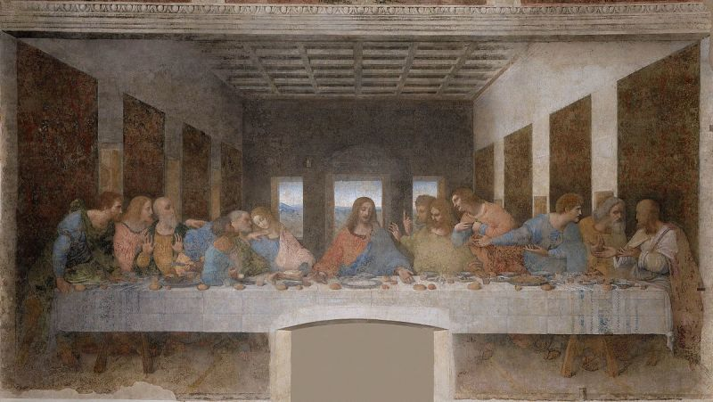Leonardo da Vinci's 'Last Supper'