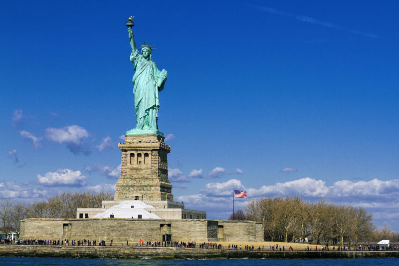 The Statue of Liberty is much bigger than you expect it to be