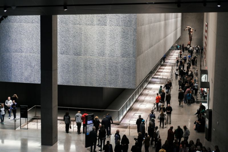 The 911 Museum is a beautiful and affecting space