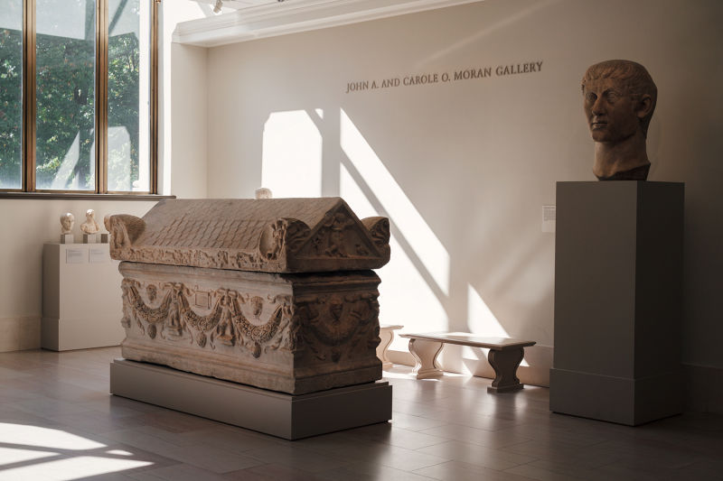 A tomb from Ancient Rome