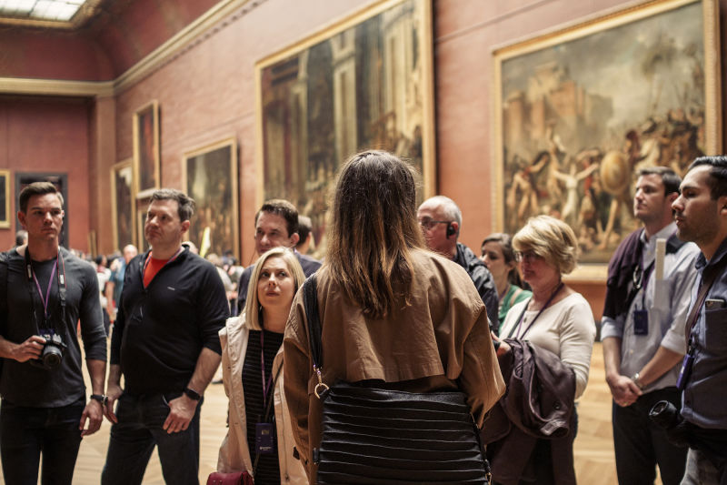 The best way to see the Louvre is in a small group with an expert guide.