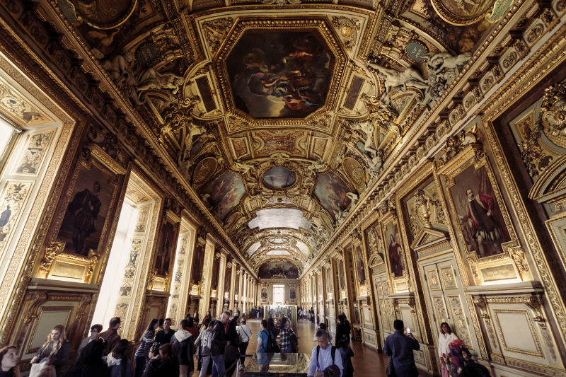Any Louvre tour is almost as much about the building as it is about the art.