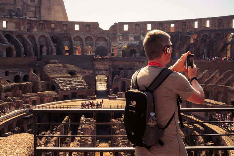 You'll have plenty of time to get that perfect shot of the Colosseum.