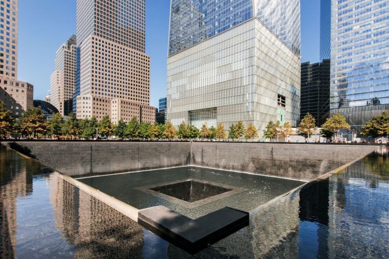 The Reflecting Pools, built in the footprint of the Twin Towers