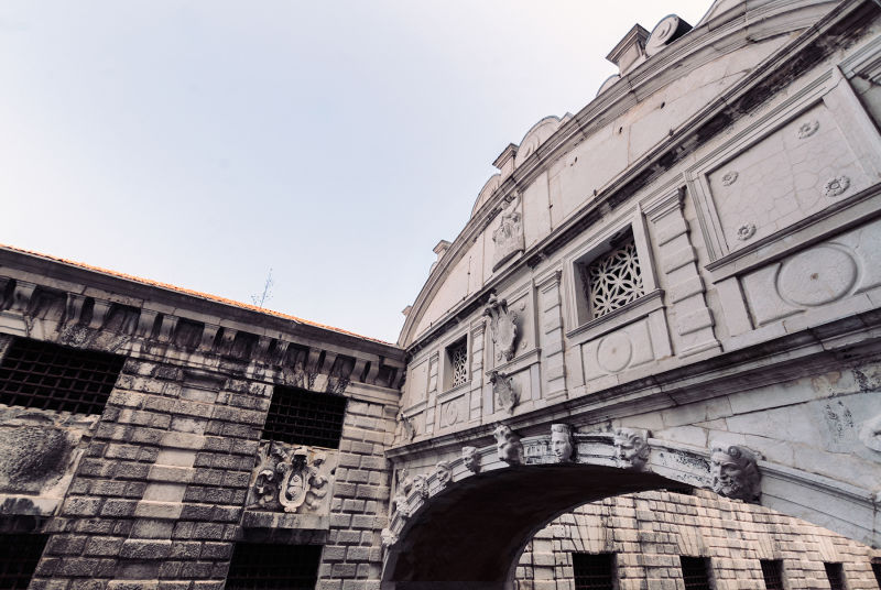 Take a close look at the Bridge of Sighs.