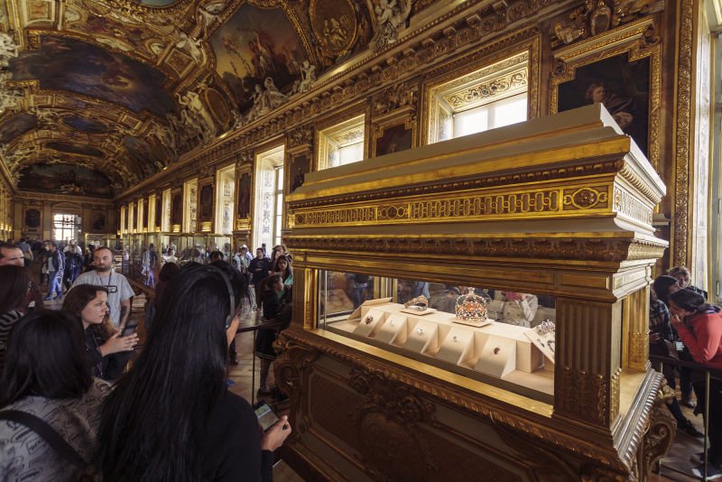 France's crown jewels are a favorite of any Louvre highlights tour.