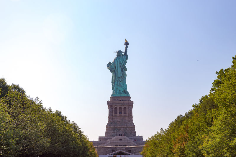 No matter what angle you view the statue from, it's an impressive sight