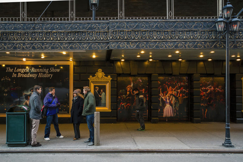 Stop by some of the most iconic theaters in NYC