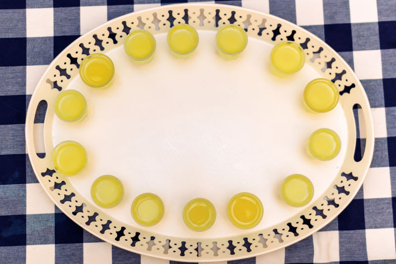 A shot of limoncello is the perfect complement to a big meal.