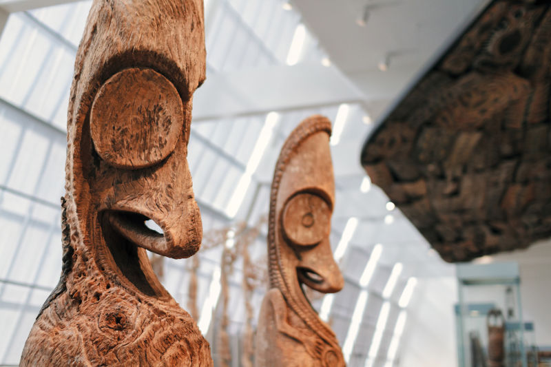Take a step into Papua New Guinea on our Met tour