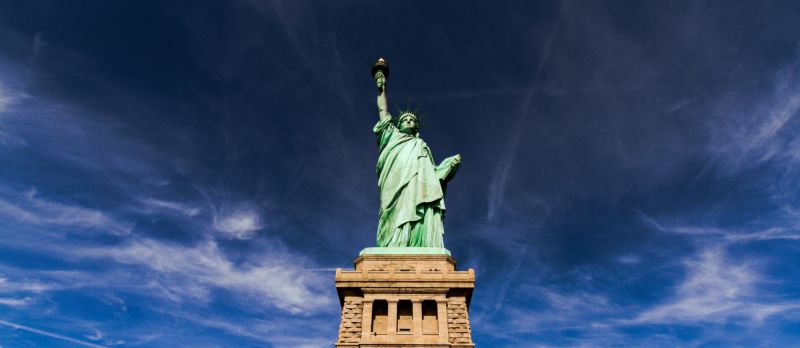 The Statue of Liberty, as seen up close on our Statue tours