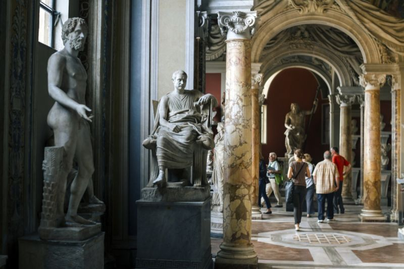 A rarely visited corner of the Vatican Museums