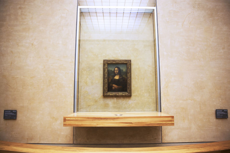 The 'Mona Lisa' is much smaller than most people thinks she is.