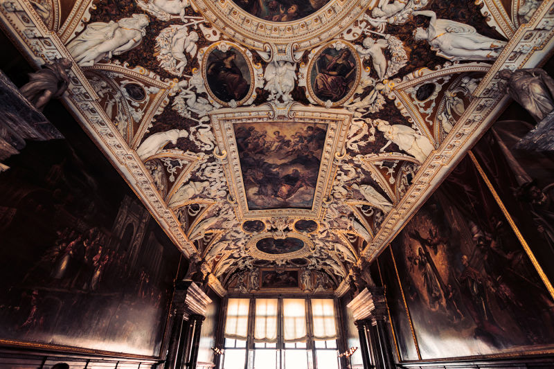 Expect a lot of rooms like this in the Doge's Palace.