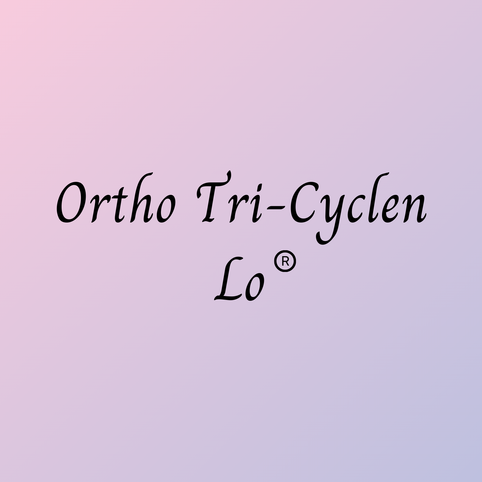 Buy Ortho Tri Cyclen Lo online birth control at hellowisp.com