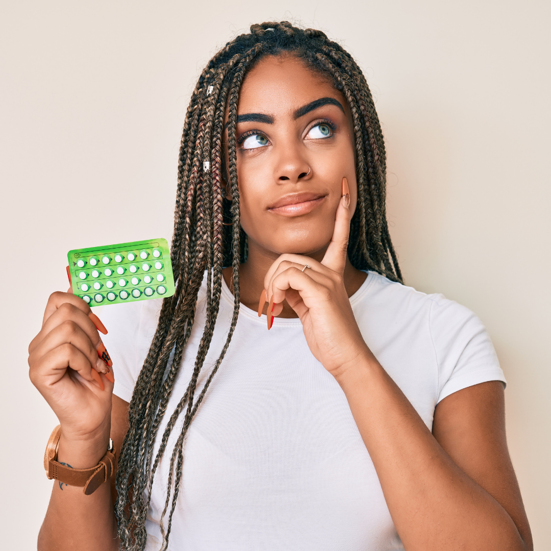 woman learning the 7 common birth control myths