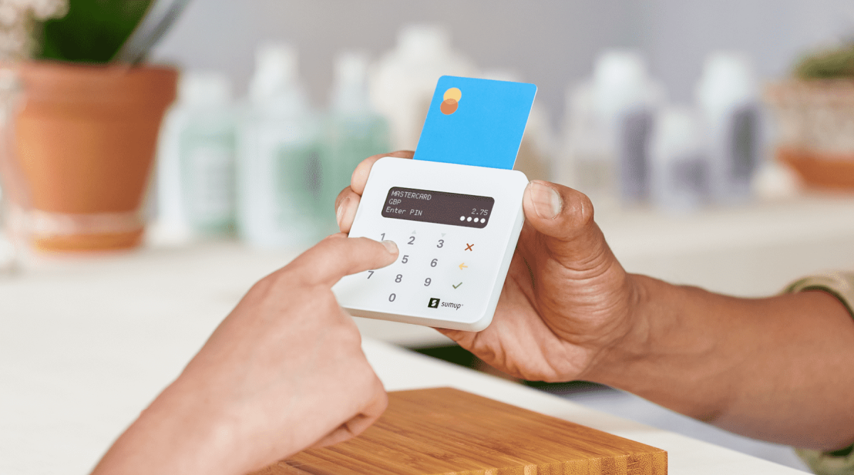 chip and pin mobile card machine
