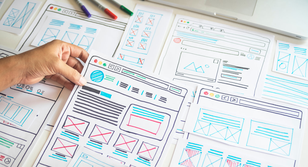 You can simply sketch out your website and have it developed or use an online website builder to set up your online presence.
