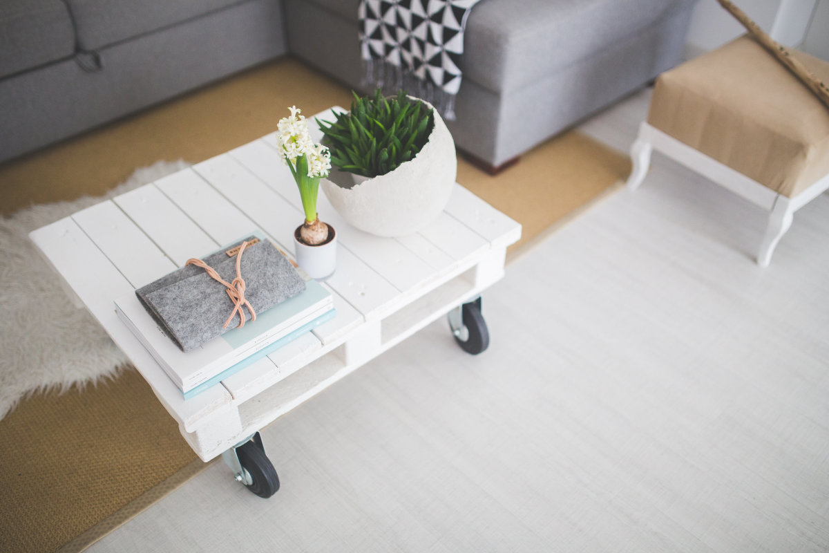 little-white-coffee-table