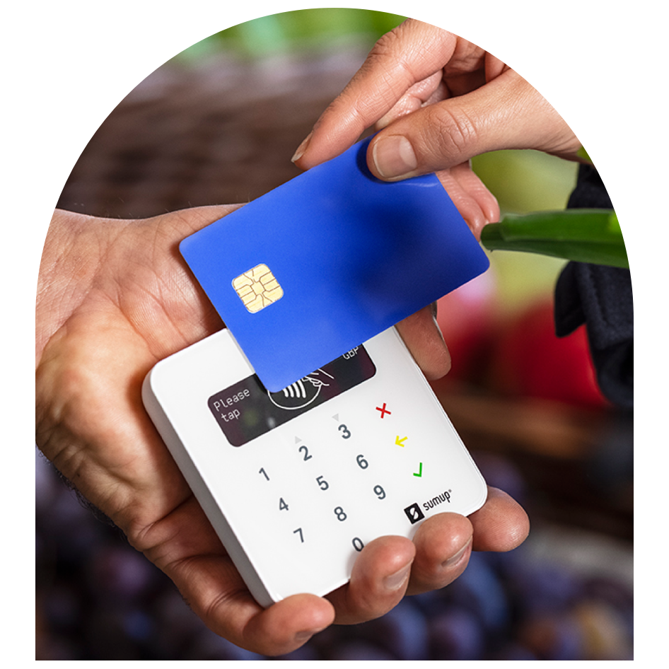 Photo of SumUp card reader