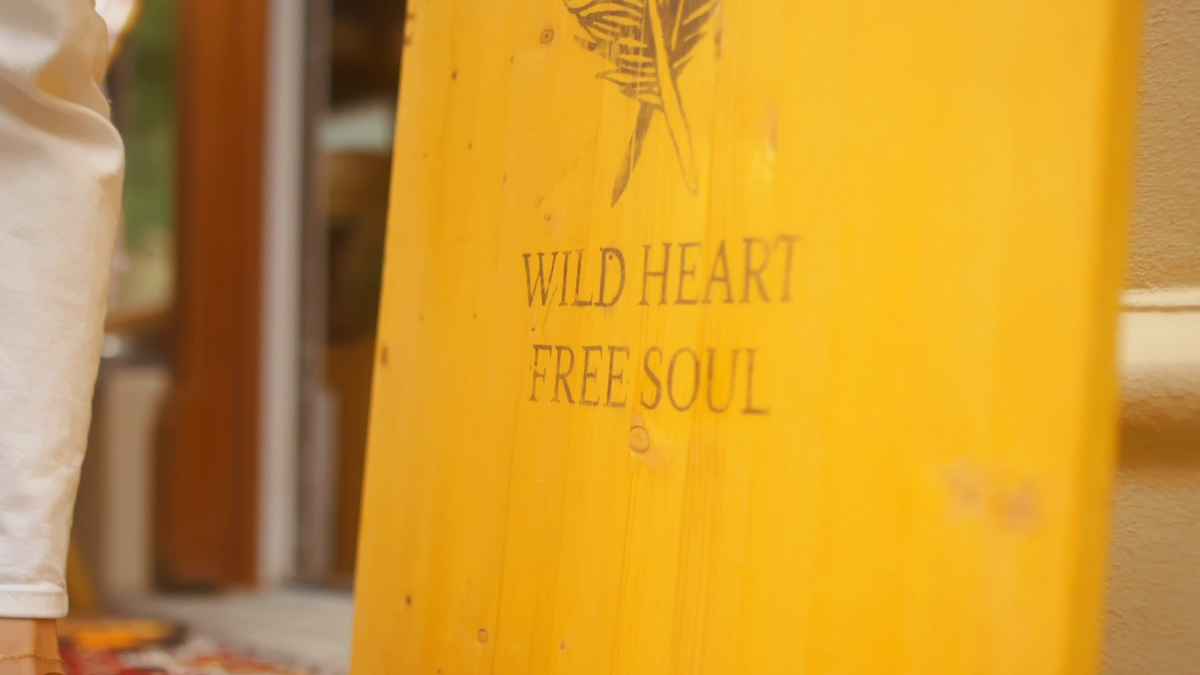 Wild Heart Free Soul Sign