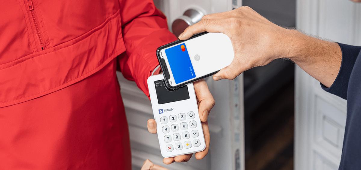 Nahaufnahme des 3G Kartenterminals