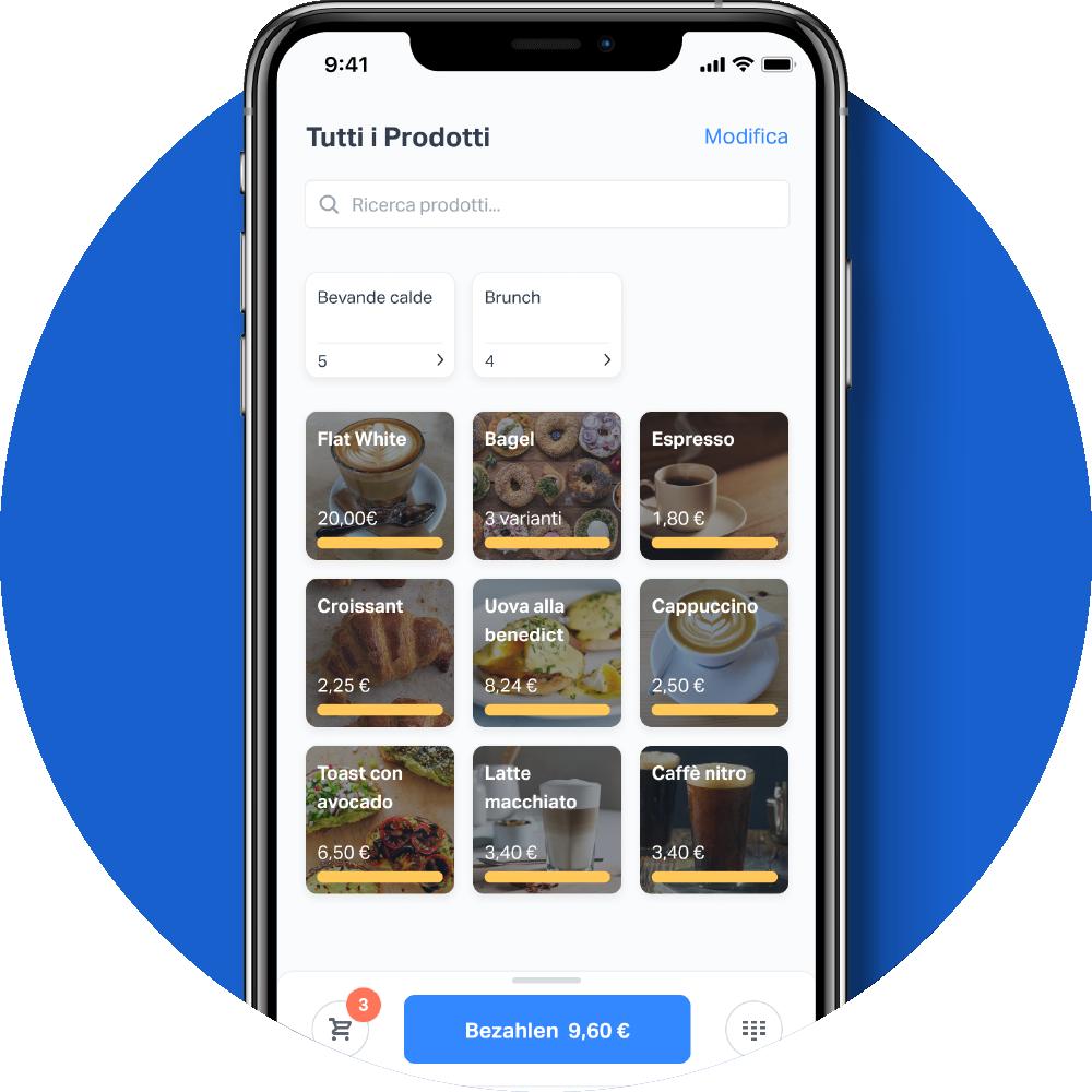 Catalogo prodotti App SumUp