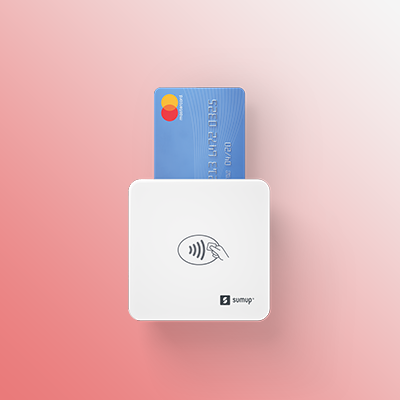 The SumUp Air Lite Card Reader enables business to take credit, debit and contactless payments.