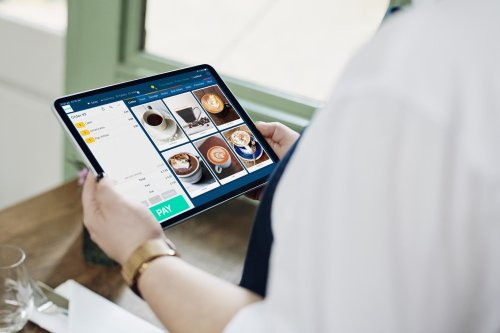 Goodtill interface on iPad