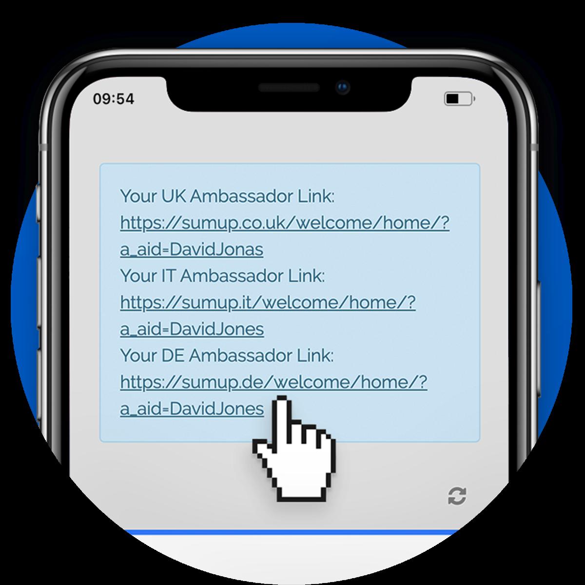 Ambassador: Get link