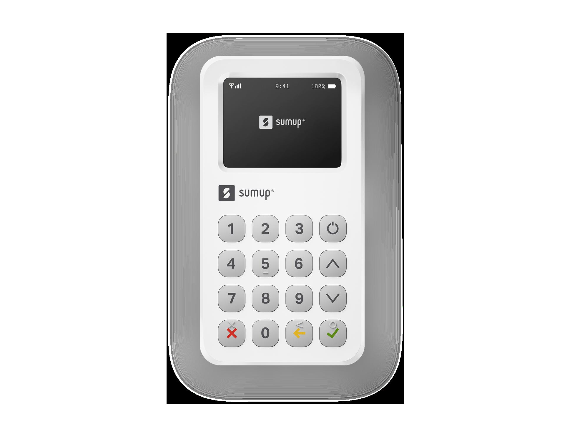 Mobile Credit Card Machine - Smart & Secure Card Reader | SumUp