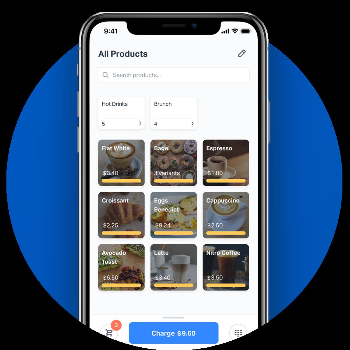 SumUp Catalog in SumUp App