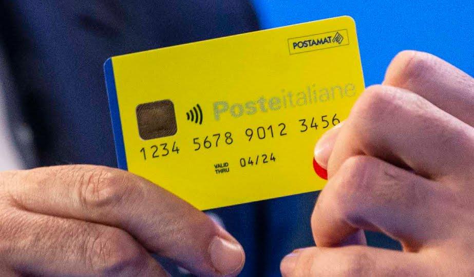 carta reddito di cittadinanza gialla poste italiane