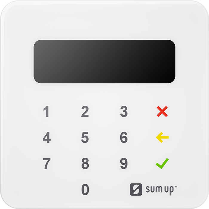 Contactless card reader nfc mobile payment terminal sumup air the perfect partner for your business reheart Image collections