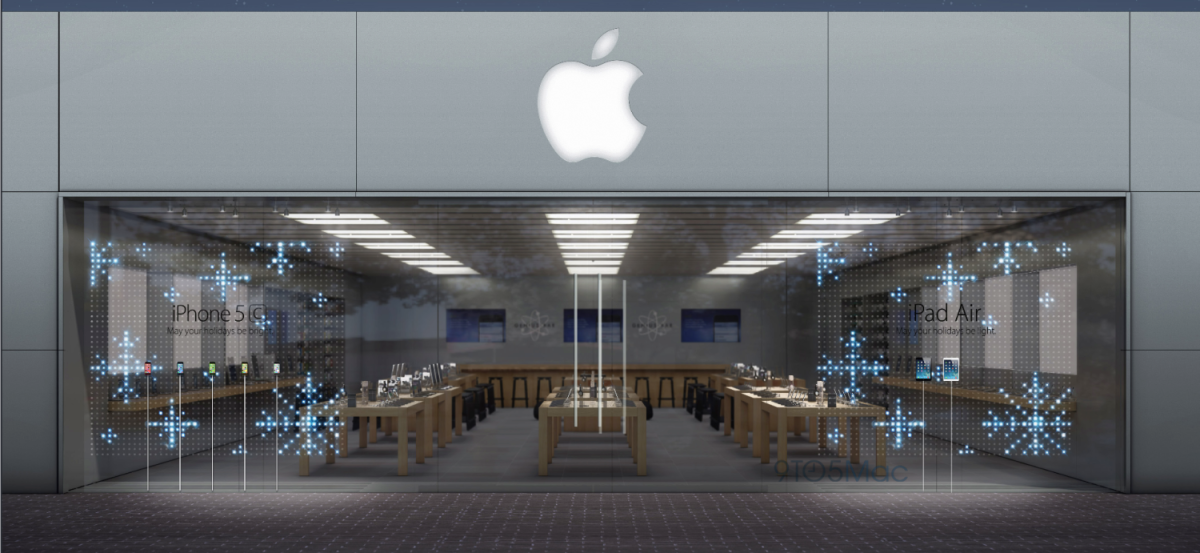 apple-window-display